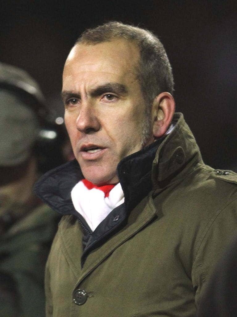Swindon manager, Paolo Di Canio, makes his feelings clear in his post-match interview