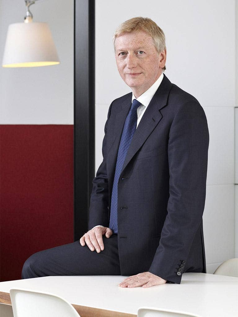 Ian Powell's accountancy firm has been hit with a record fine