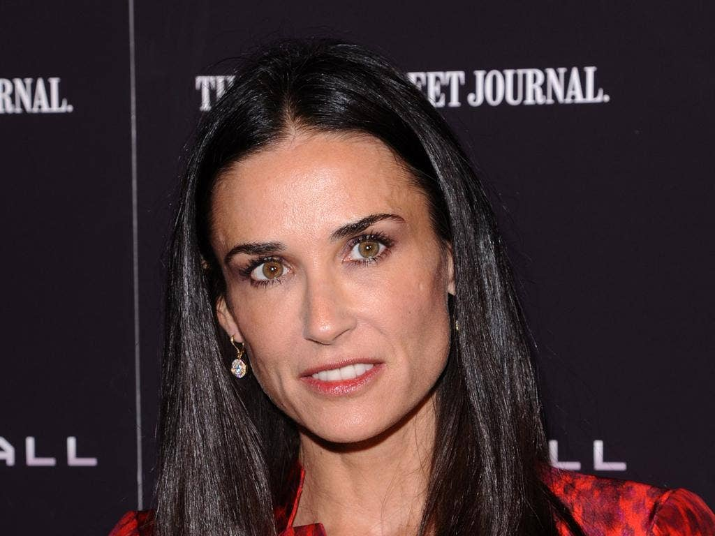 Actress Demi Moore has suffered from 'exhaustion'