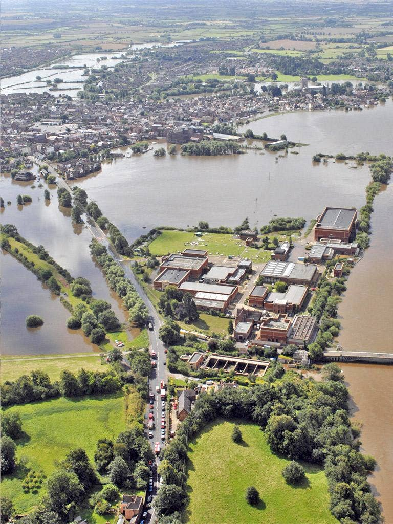 Tewkesbury was among the worst-affected areas in the 2007 floods
