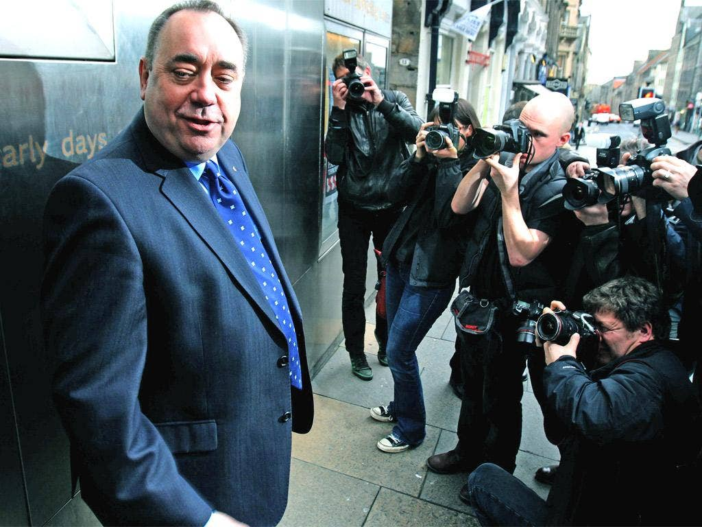 Scotland's First Minister Alex Salmond launched his bid for an independent Scotland yesterday