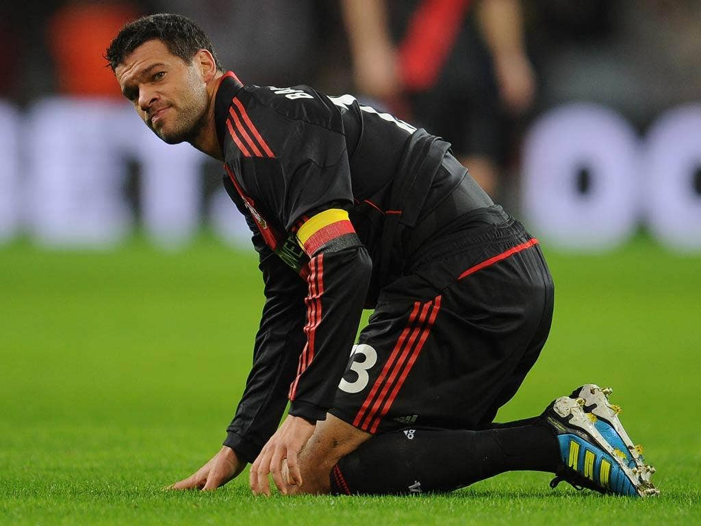 Ballack has been criticised by the CEO