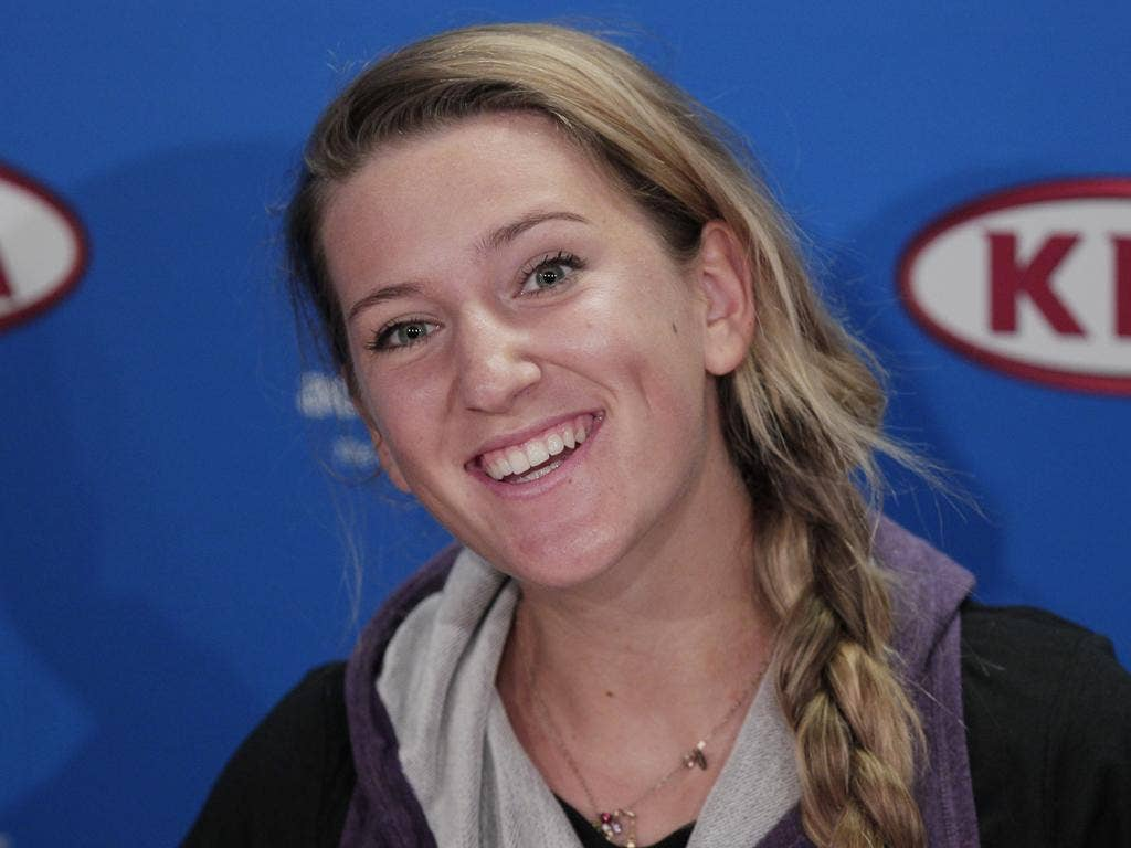 Victoria Azarenka, the Belarusian world No 3 has made her first final in her 25th Grand Slam tournament
