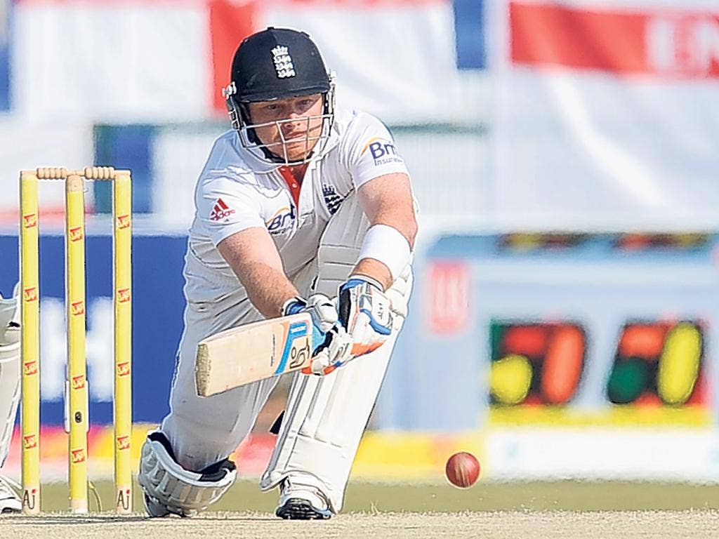 Stuart Broad praised the support he received from Ian Bell
