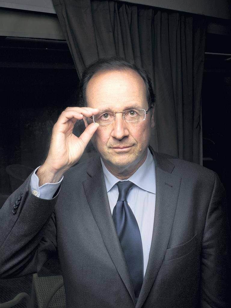 """François Hollande: """"My real adversary will never be a candidate, even though it governs. It is the world of finance."""""""
