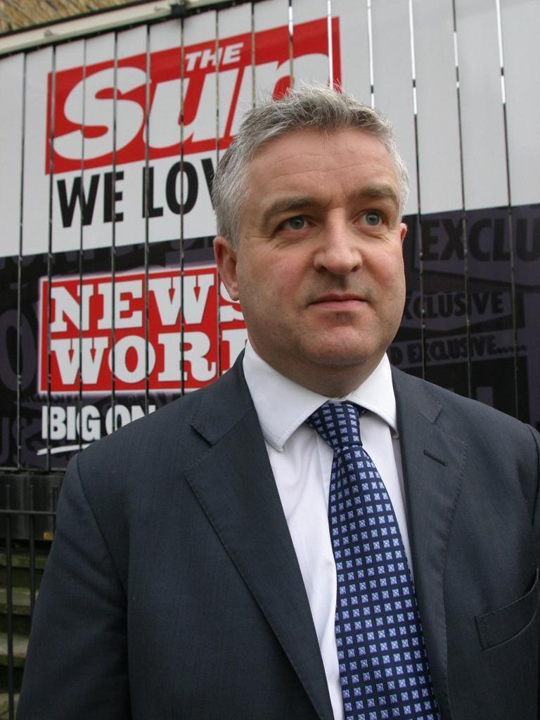 Former Sun former managing editor Graham Dudman