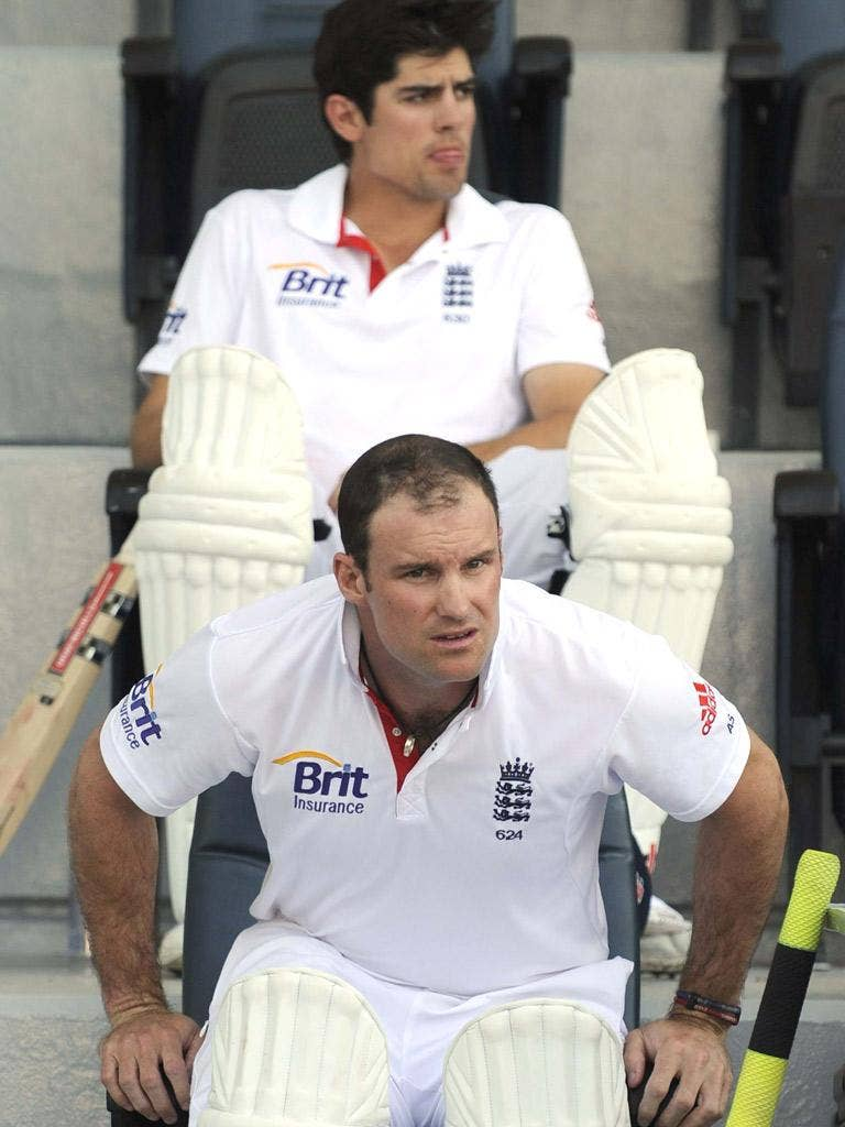 Andrew Strauss and his Test batting line-up have been in place six years