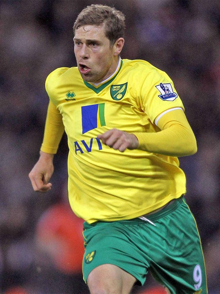 Rangers attempted to prise Grant Holt away from Norwich