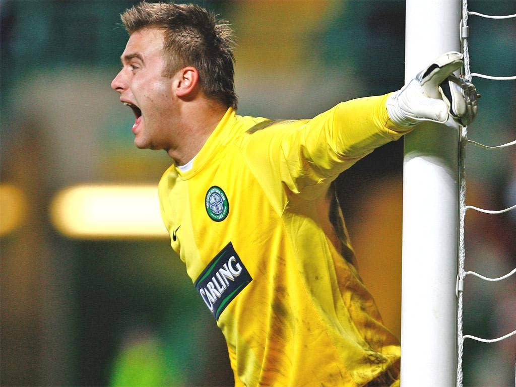Artur Boruc became a club legend during his five years at Celtic