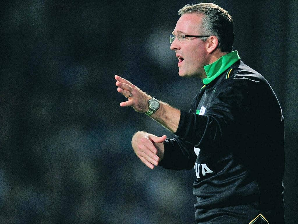Paul Lambert has taken inspiration from coaches at home and abroad