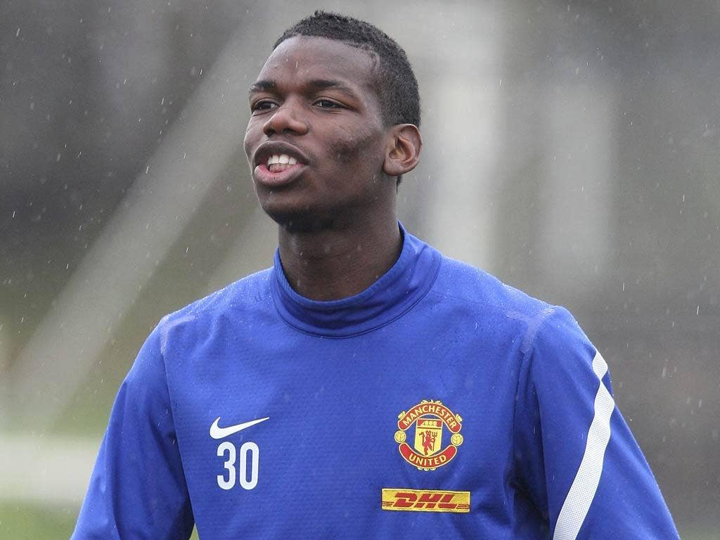 Paul Pogba featured in United's 2-0 victory over Stoke