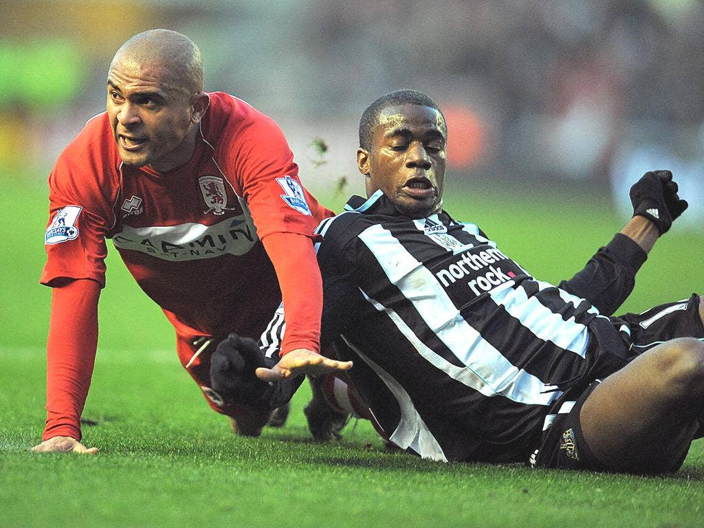 Middlesbrough's Afonso Alves was a flop after joining in January 2008 for £12m