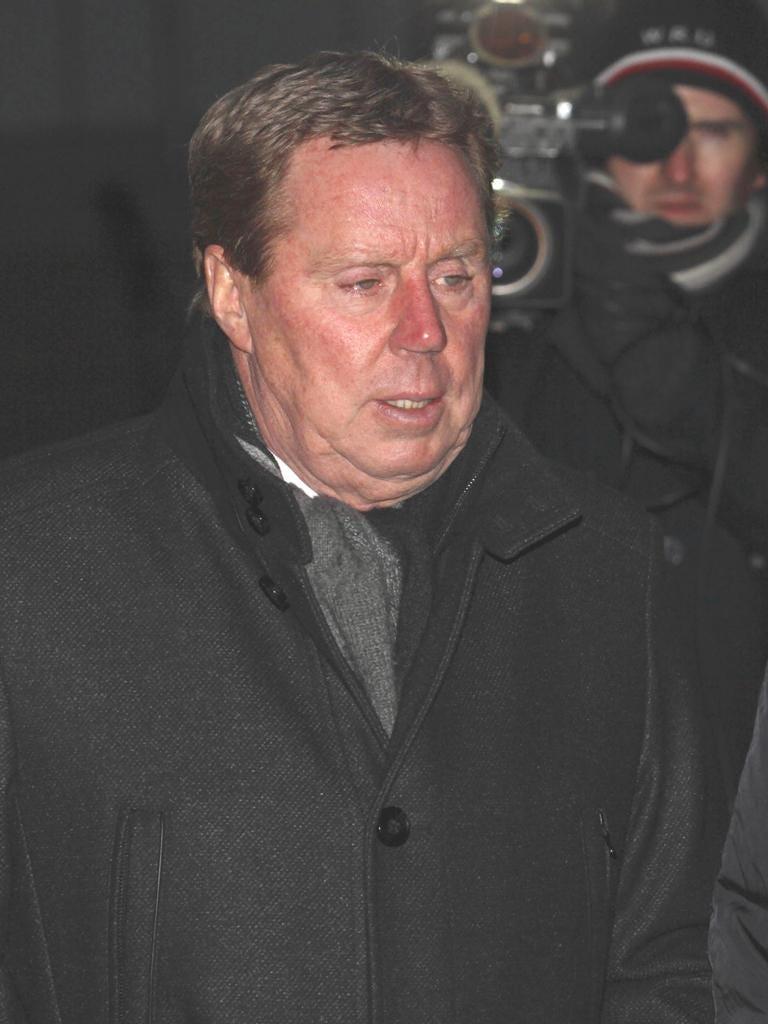 Harry Redknapp leaves Southwark Crown Court yesterday