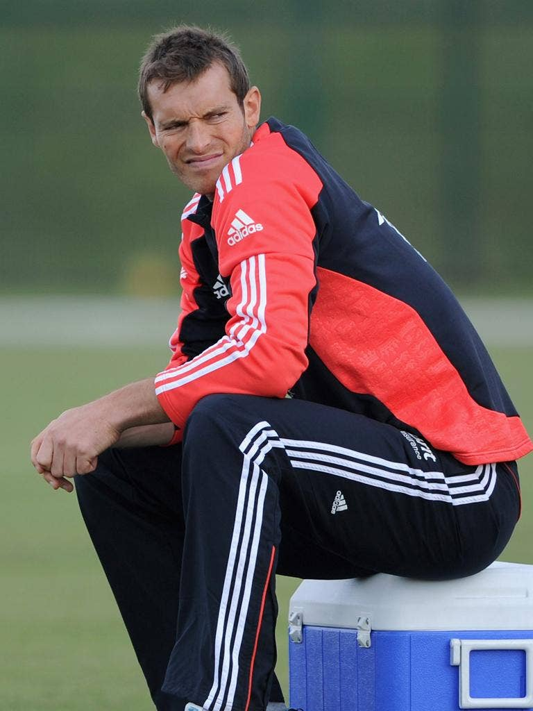 Chris Tremlett, the injured fast bowler, will be out until April - so will miss the Sri Lanka tour