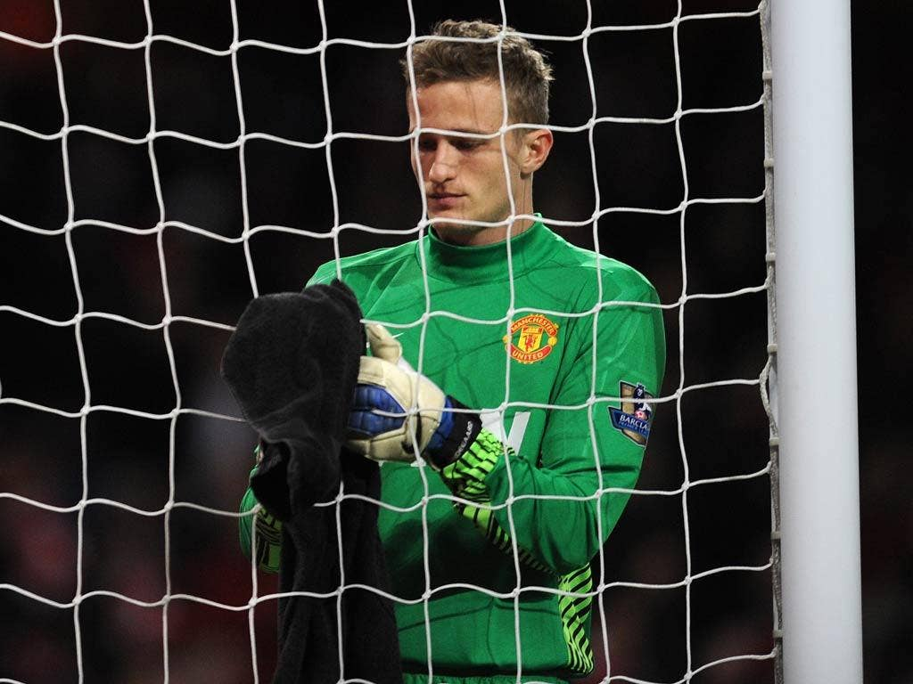 Lindegaard appears to be United's new first-choice