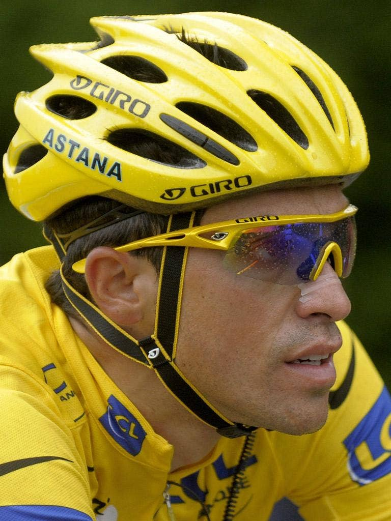 ALBERTO CONTADOR: The Spaniard will definitely return to racing, says his brother and agent, Fran