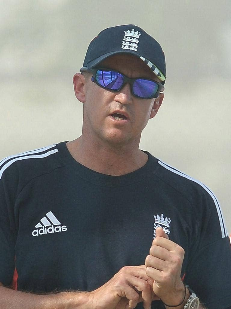 ANDY FLOWER: England's coach said that his side were neither sharp nor ready in the Test series