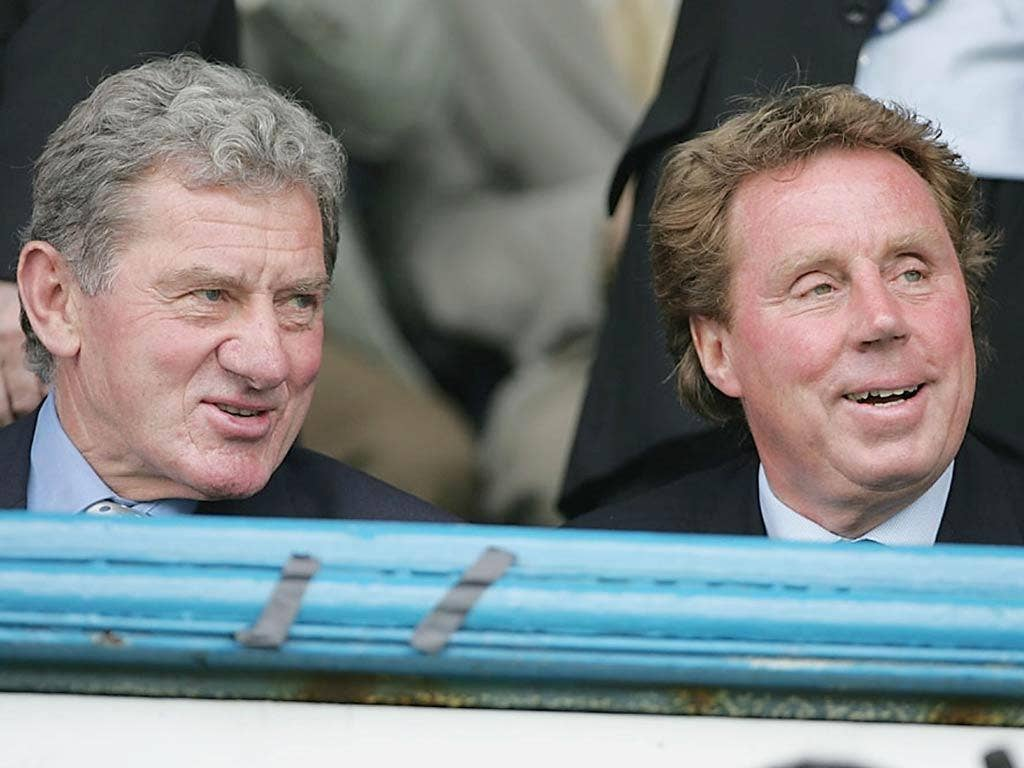 <b>2004</b><br/> Named manager of the month for April and October before leaving Portsmouth in November after falling out with chairman Milan Mandaric (left). In a bizarre move Redknapp would join Pompey's great rivals Southampton just two weeks later.