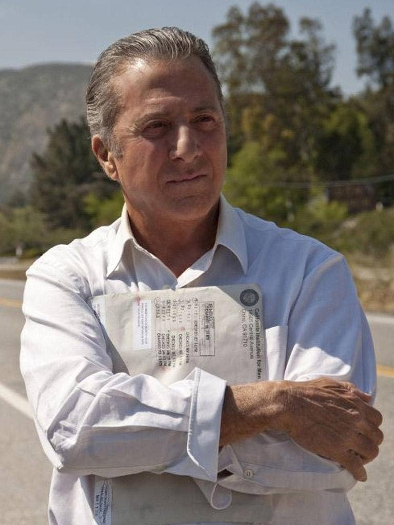 Dustin Hoffman produces and stars in the HBO drama 'Luck'