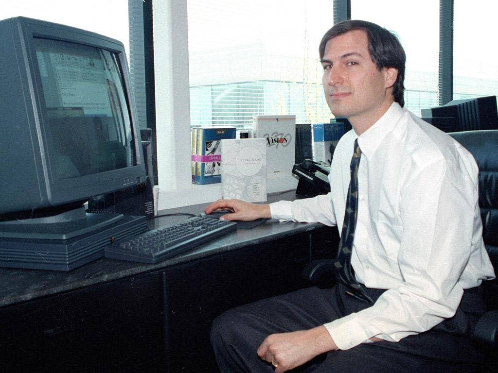 Steve Jobs, in 1991, when checks were carried out by the FBI