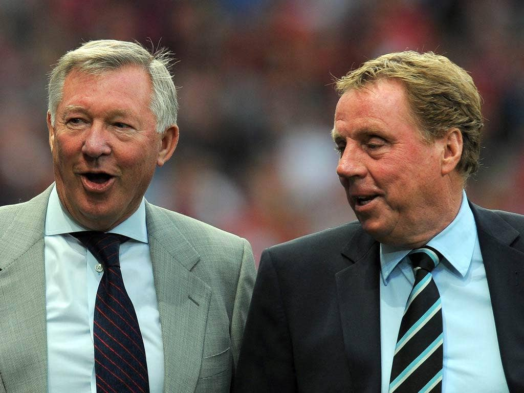 Alex Ferguson has backed Redknapp for the role