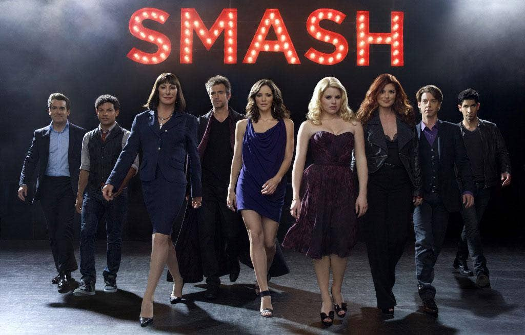 Jazz hands ahoy: Glossy Broadway musical drama Smash is currently winning raves in the US
