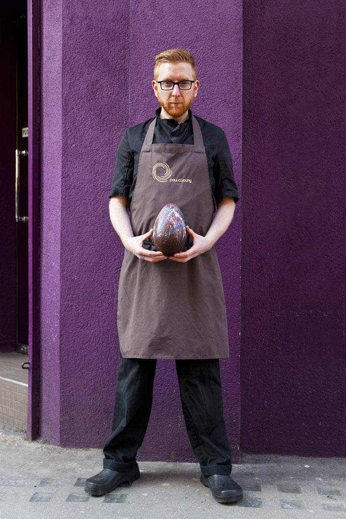 Paul A Young runs three chocolateries in London, including a flagship on Wardour Street