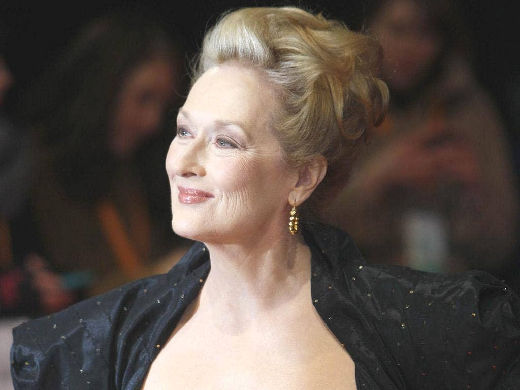 The Baftas red carpet – and the best actress award – belonged to Meryl Streep, who won for her role as Margaret Thatcher in The Iron Lady
