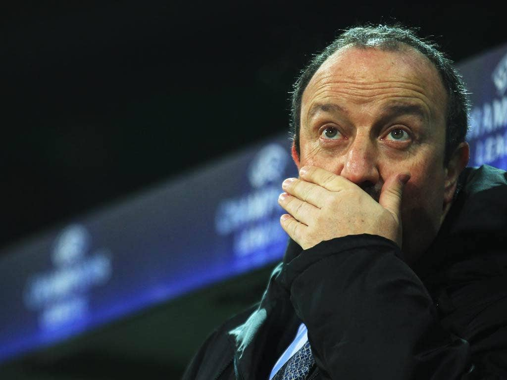 <b>RAFAEL BENITEZ</b><br/> Used to challenging for the Champions League and being at the other end of the Premier League with Liverpool. An outsider to join a relegation fight and according to reports, has already ruled himself out.