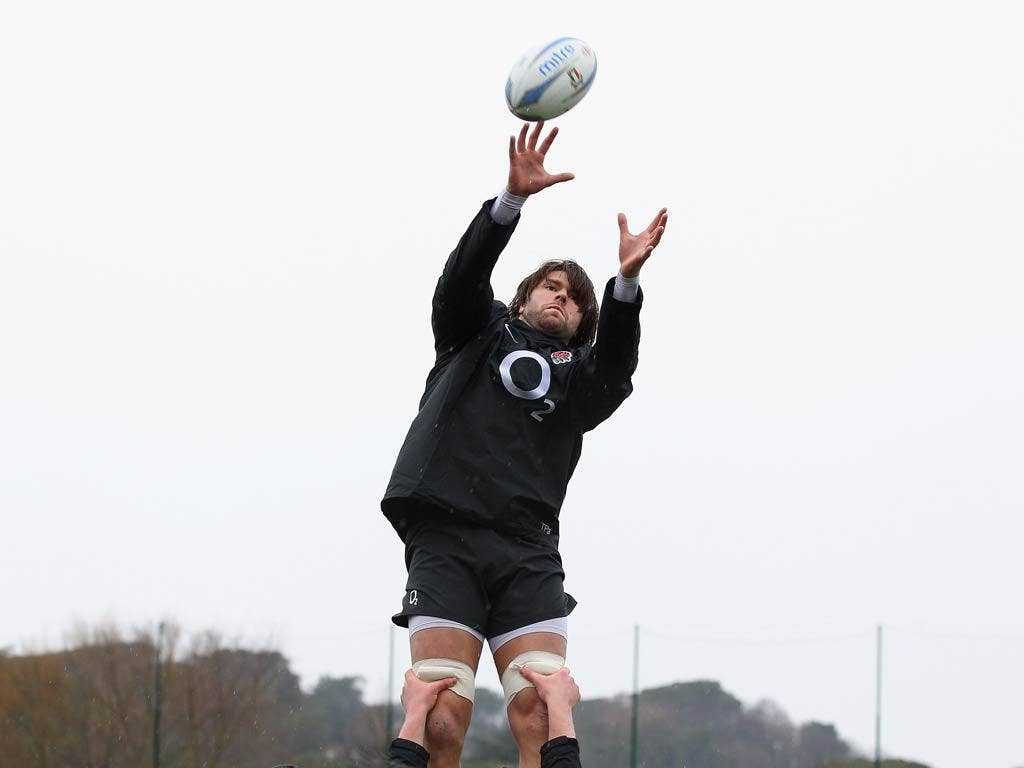 Tom Palmer is in the England squad