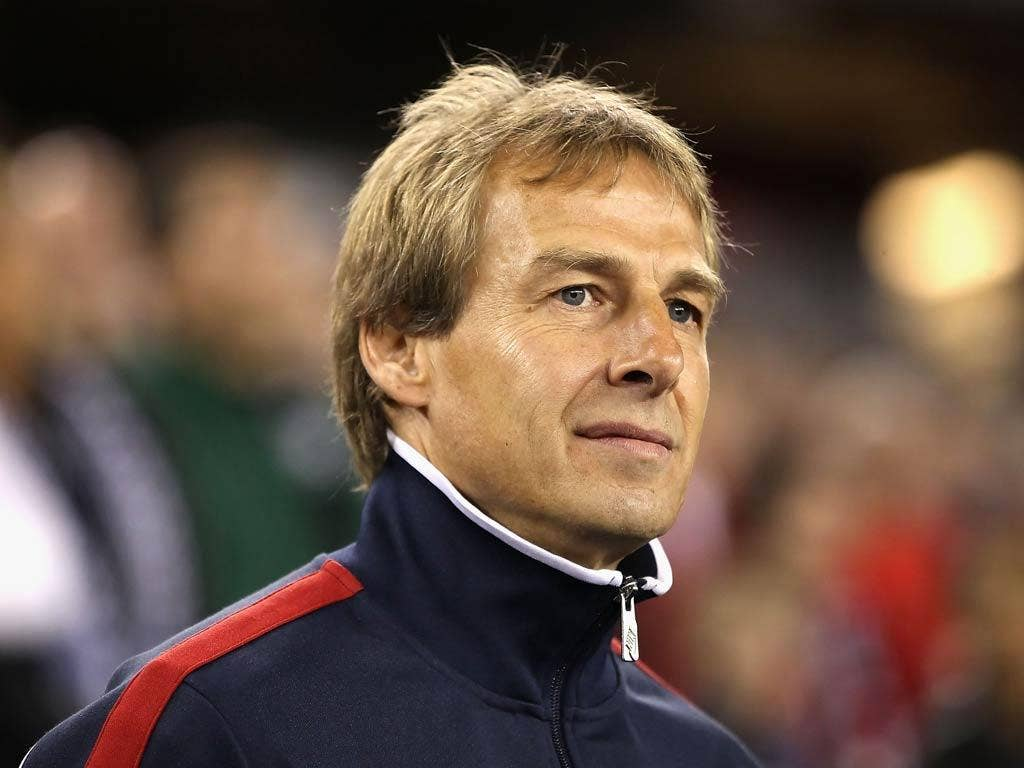 Jurgen Klinsmann has been linked with Tottenham should Harry Redknapp become England manager