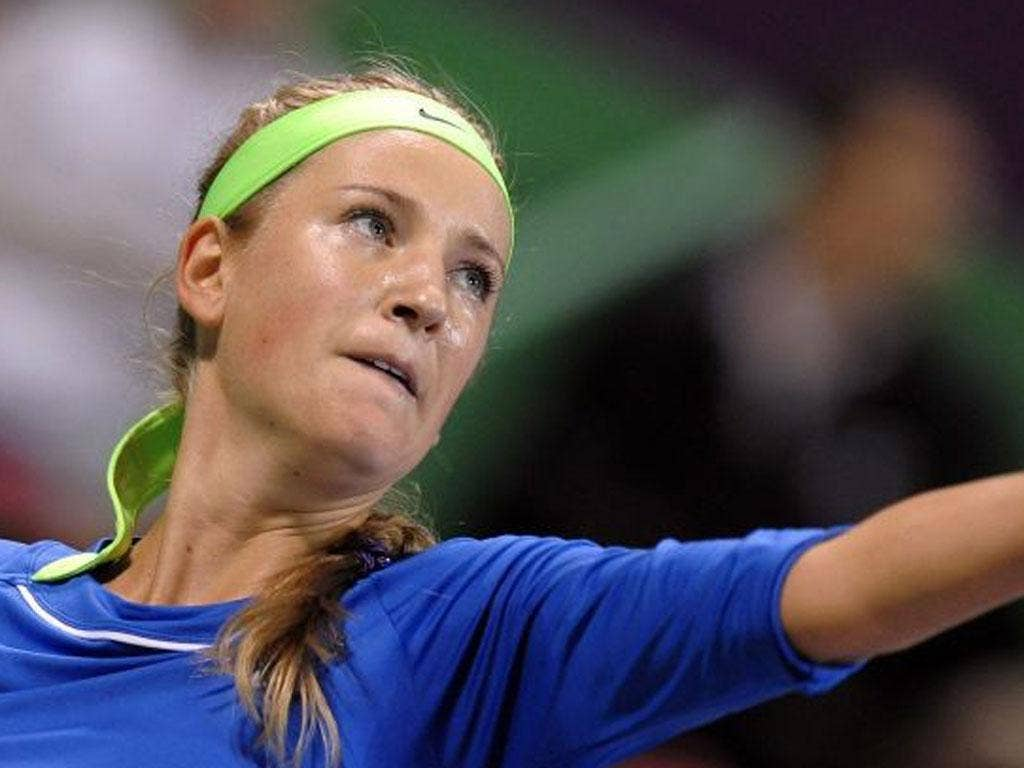 VICTORIA AZARENKA: The Belarusian world No 1 has started the year with 17 victories in succession