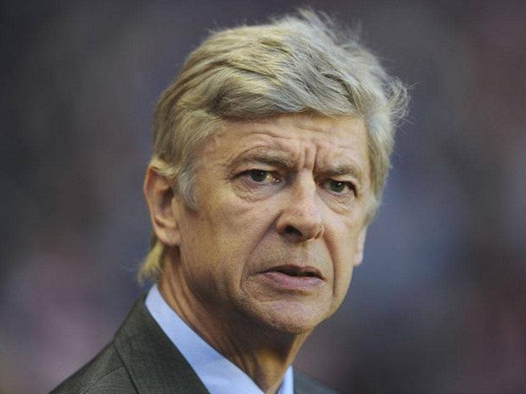 'The first trophy is to finish in the top four and that is still possible for us' Arsene Wenger, Arsenal manager