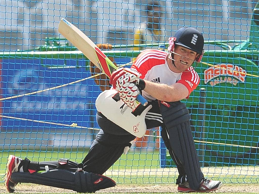 Eoin Morgan says England are 'starting from scratch in this part of the world'