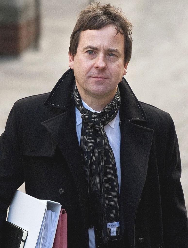 The Sun's editor Dominic Mohan