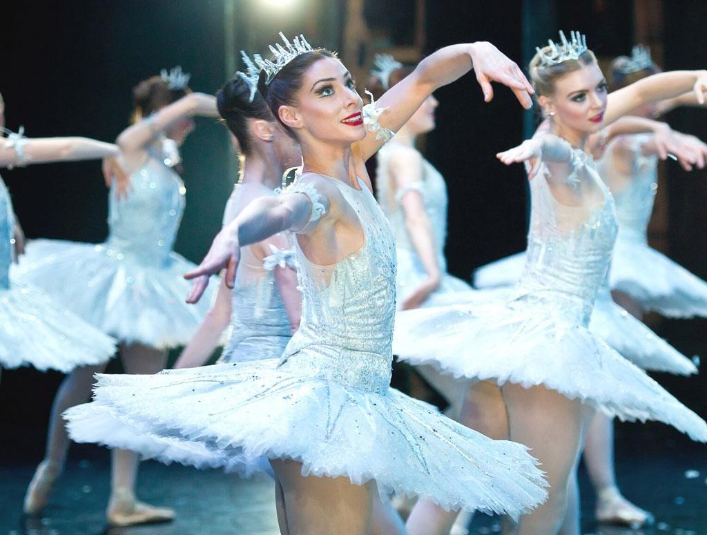 English National Ballet dancers perform The Nutcracker