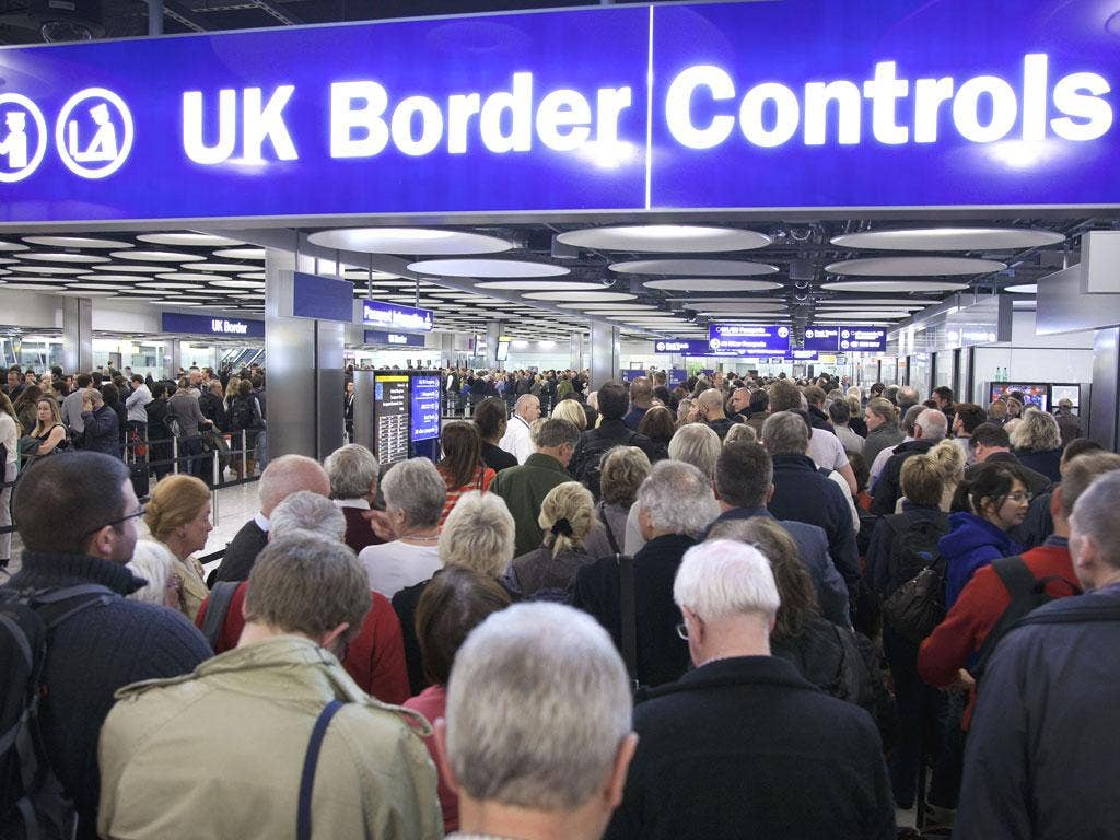 Theresa May ordered that the UK Border Force be separated from the UK Border Agency (UKBA)