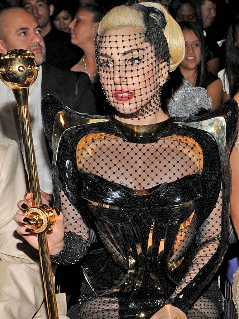 Lady Gaga at the Grammys earlier this month