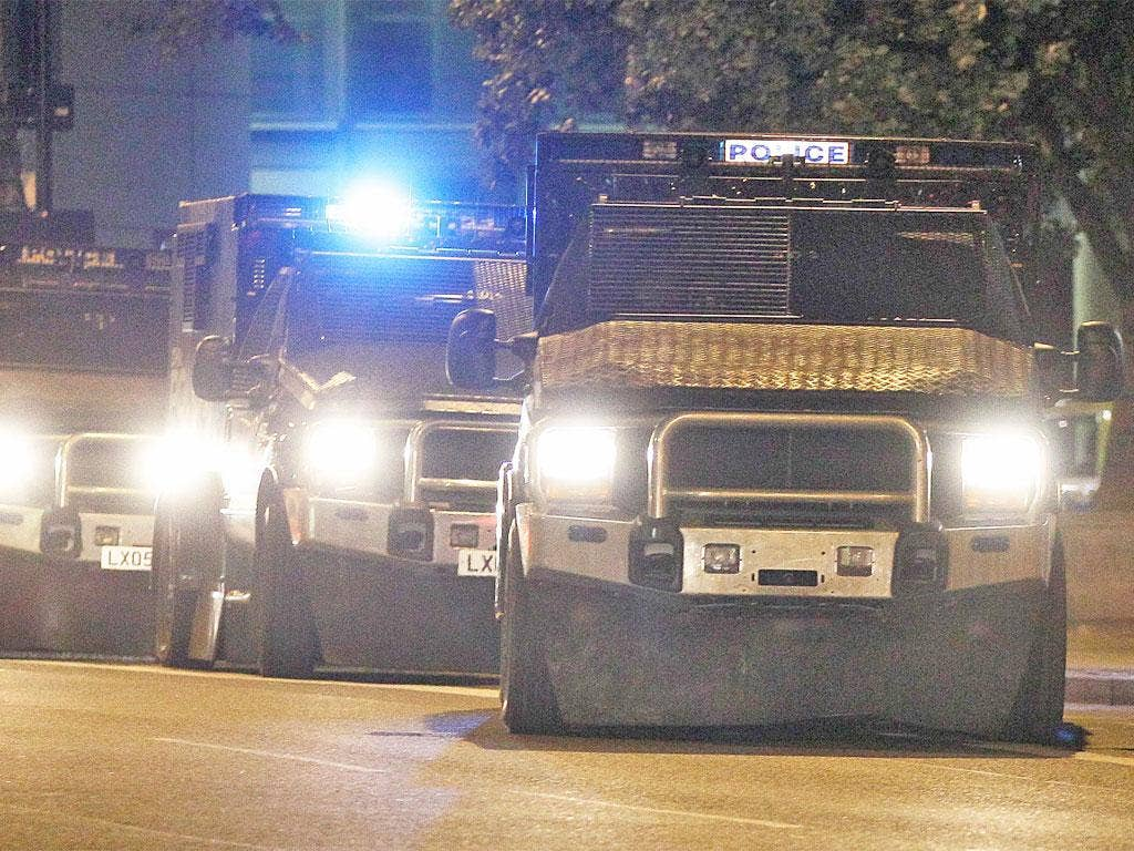 Jenkel vehicles were used during the riots in Britain last year