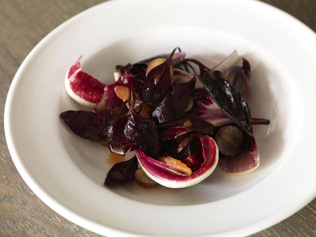 Ruby salad is a great winter or autumn salad
