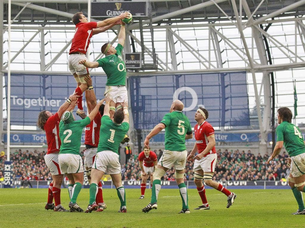 The Welsh lineout can be targeted
