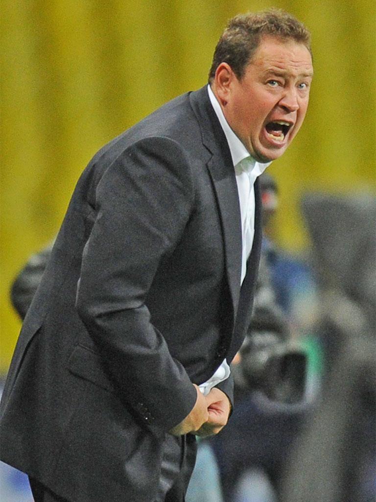 CSKA coach, Leonid Slutsky, was full of praise for his player Pontus Wernbloom