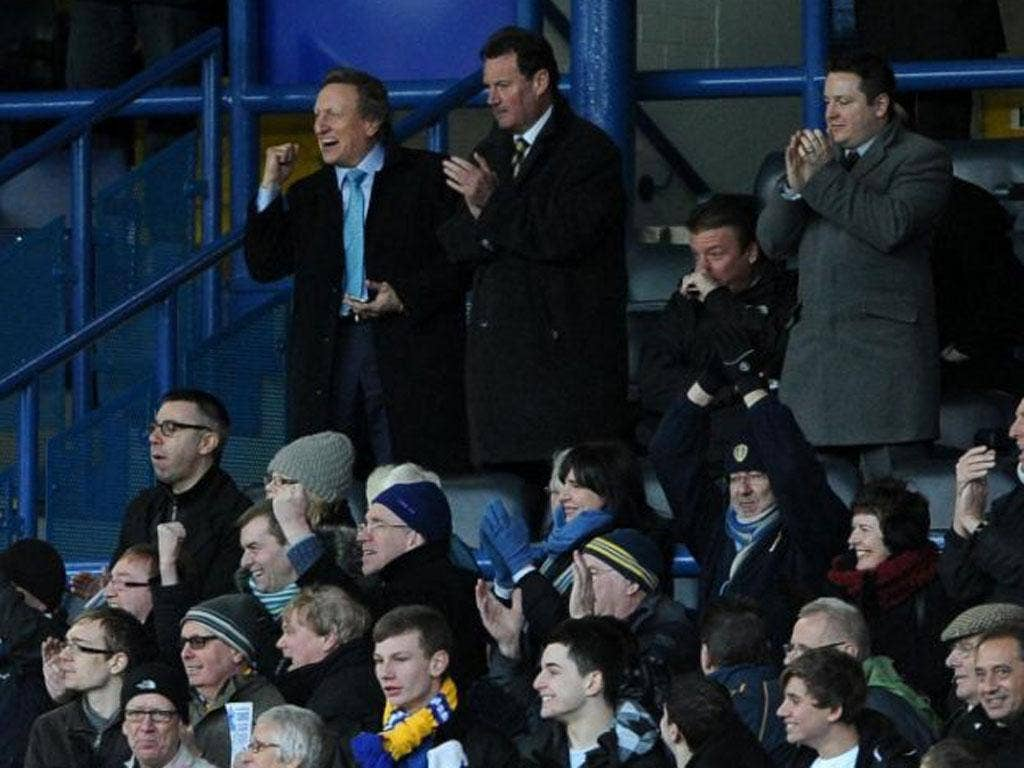 Enjoying my first visit to Elland Road as the new Leeds manager