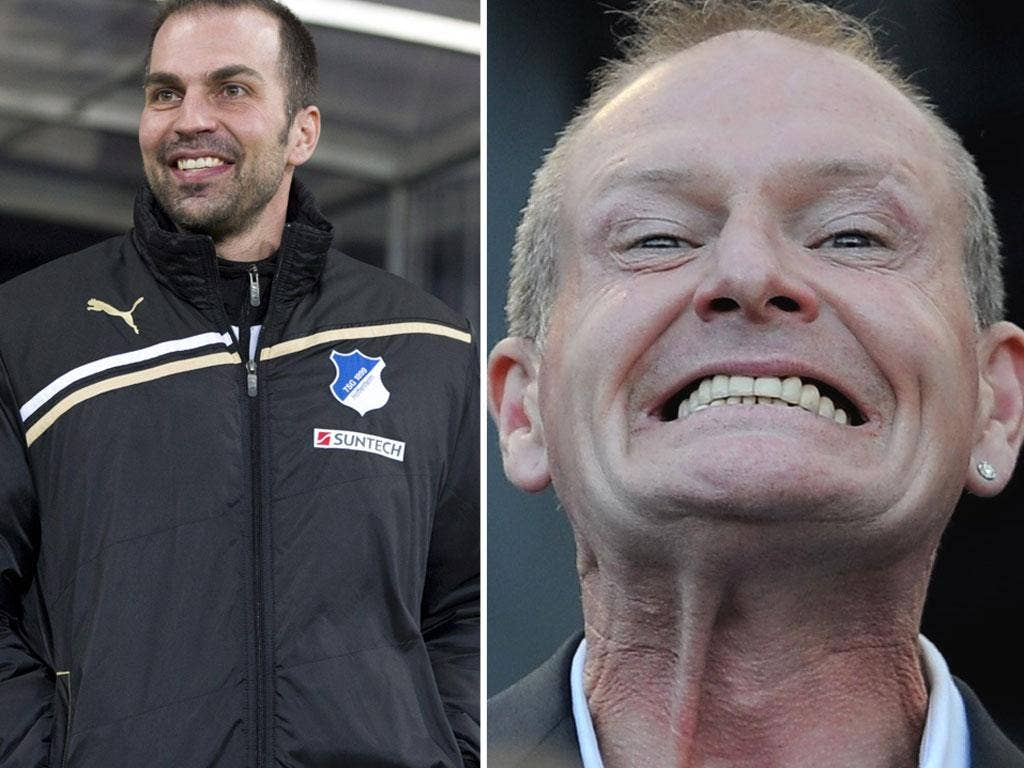 Markus Babbel is Hoffenheim coach; Paul Gascoigne is unlikely to reach such heights