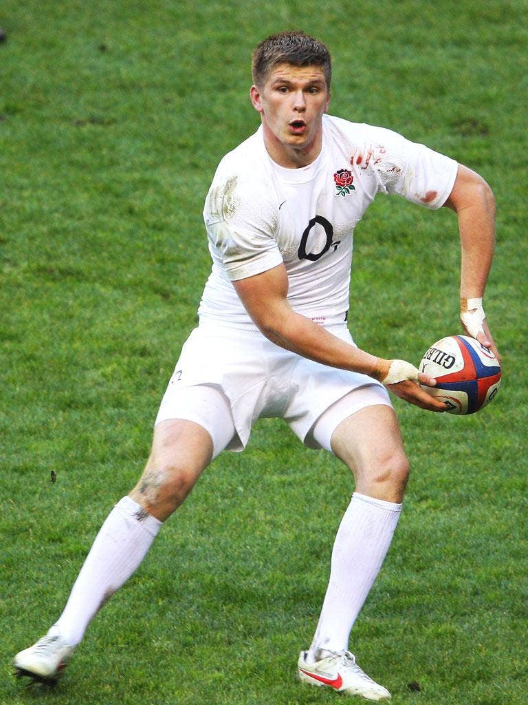 'Owen Farrell is most definitely the guy who can take the England team forward,' says Tuilagi