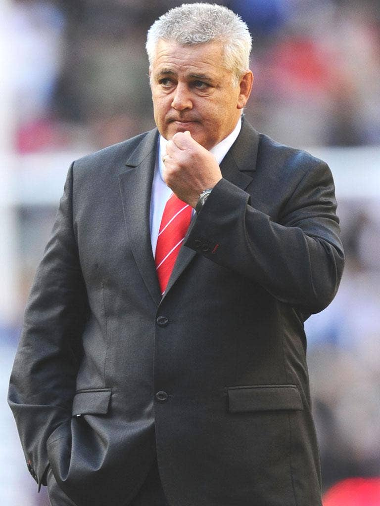 Wales coach Warren Gatland's team are up to fifth in the world