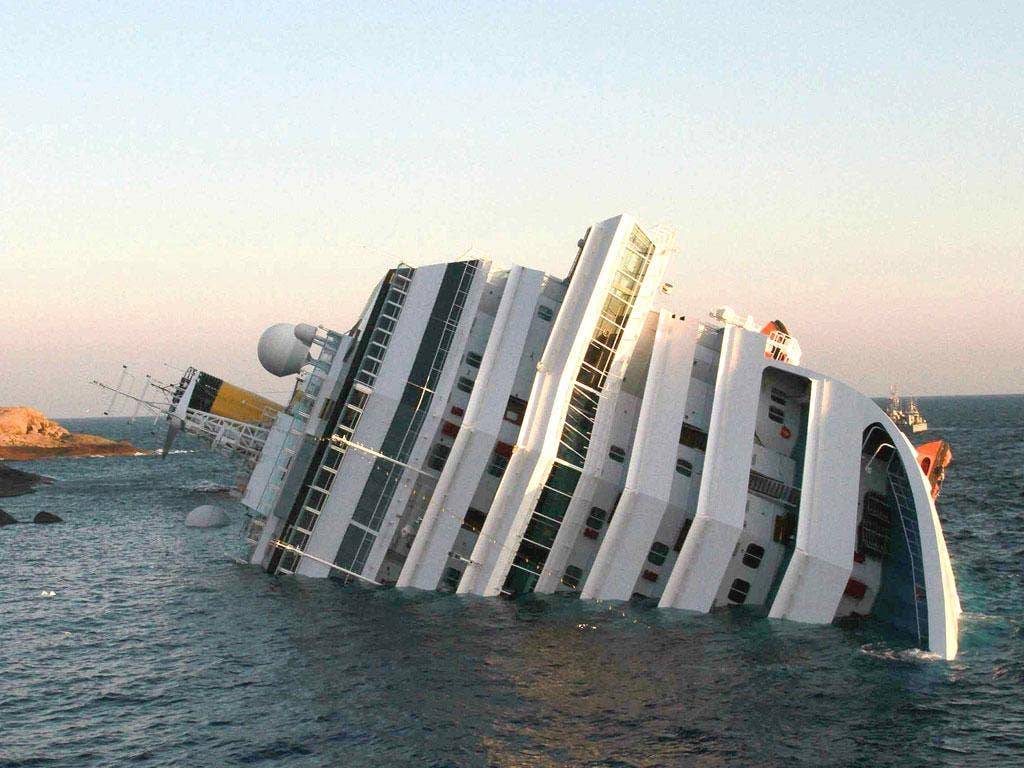 The Costa Concordia ran aground off the Italian island of Giglio last month, killing at least 25