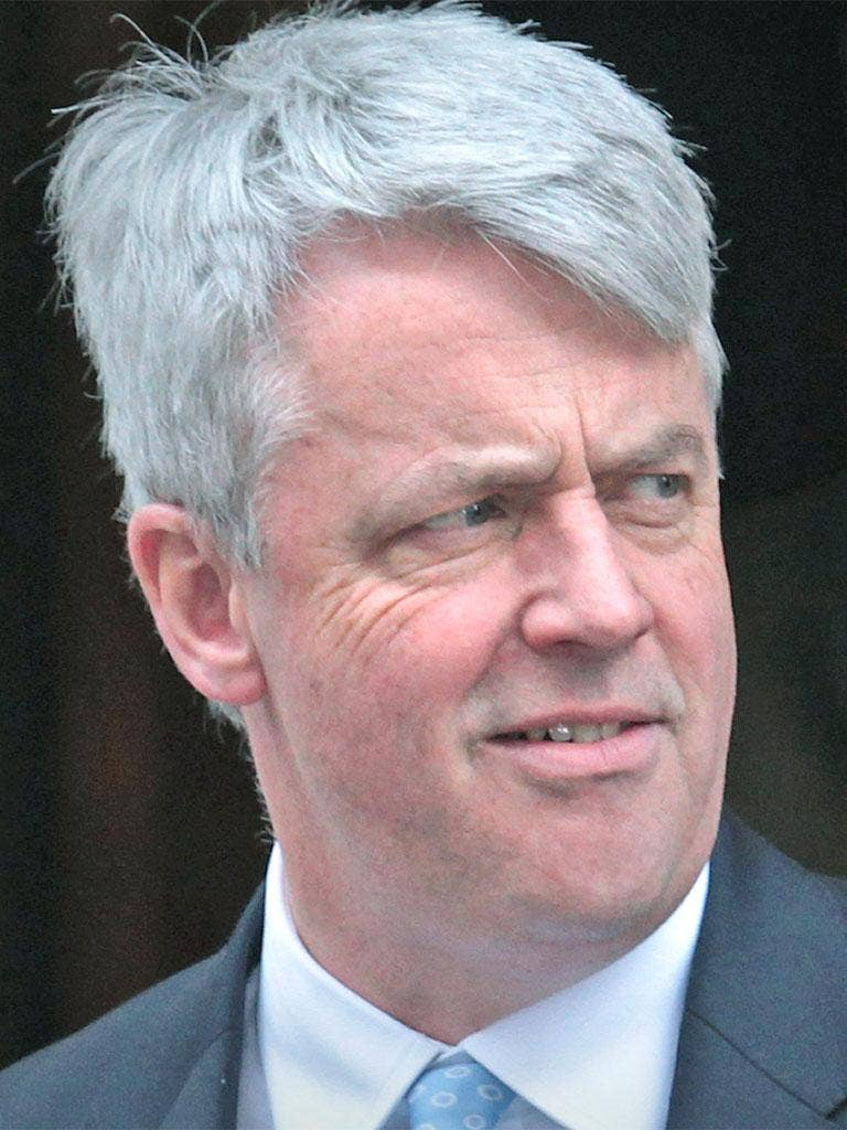 Andrew Lansley claims there is no disunity within the coalition over the Health Bill