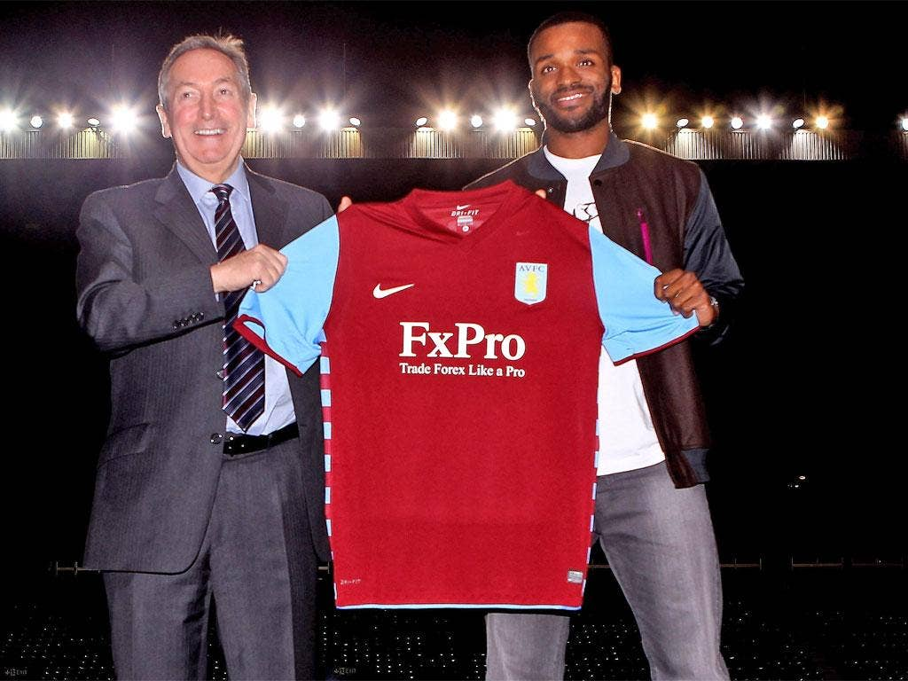 The signing of Darren Bent helped Villa record £54m losses