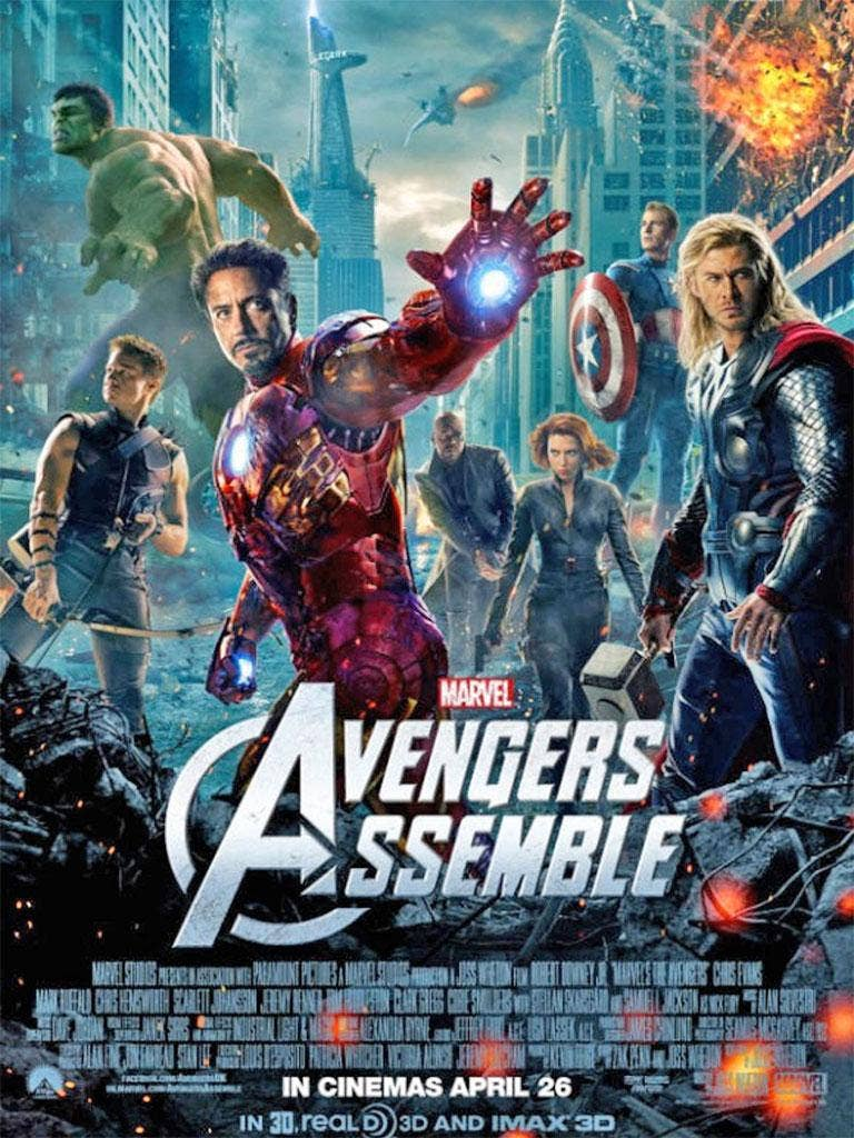 The latest poster for 'Avengers Assemble'